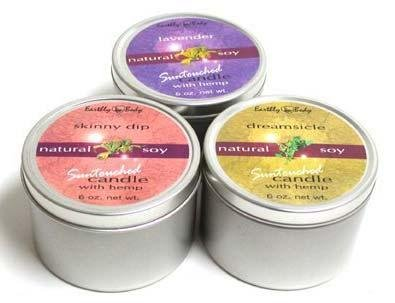 Earthly Body 3 in 1 Suntouched Body Candle