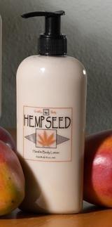 Earthly Body Hemp Seed Hand & Body Lotion