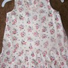 Old navy cream floral corduroy dress   EUC   $3
