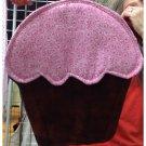 Pink cupcake potholder