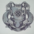 UNITED STATES NAVY DIVER - SILVER MILITARY PATCH