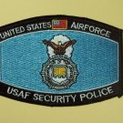 UNITED STATES AIRFORCE USAF SECURITY POLICE MOS MILITARY PATCH