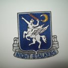 US ARMY 160th SOAR NIGHT STALKERS Military Patch Special Ops Aviation Regiment