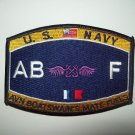 United States NAVY Aviation Boatswain's Mate Fuels Rating Military Patch AB F