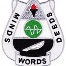 ARMY 15th Psychological Operations Battalion Military Patch MINDS WORDS DEEDS
