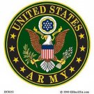 UNITED STATES ARMY LOGO MILITARY CAR VEHICLE WINDOW DECAL PATRIOTIC STICKER