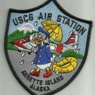 US COAST GUARD USCG AIR STATION ANNETTE ISLAND ALASKA MILITARY PATCH DONALD