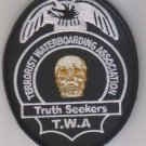 TERRORIST WATERBOARDING ASSOCIATION TRUTH SEEKERS VELCRO MORALE MILITARY PATCH