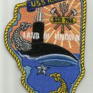 USS ILLINOIS SSN-786 Virginia Class Nuclear Powered Submarine Military Patch