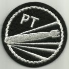 US NAVY PT BOAT PATROL TORPEDO BOAT WWII MILITARY PATCH