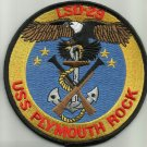 USS PLYMOUTH ROCK LSD-29 DOCK LANDING SHIP MILITARY PATCH EAGLE