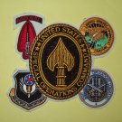 UNITED STATES ARMED FORCES Special Operations Command MILITARY GAGGLE PATCH