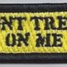 DON'T TREAD ON ME GADSDEN COLOR TAB MOTORCYCLE JACKET BIKER VEST MILITARY PATCH