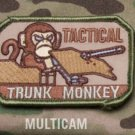 TACTICAL TRUNK MONKEY - MULTICAM - TACTICAL BADGE MORALE VELCRO MILITARY PATCH