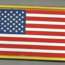 USA AMERICAN FLAG COLOR TACTICAL COMBAT BADGE MORALE PVC VELCRO MILITARY PATCH