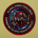 USAF GLOBAL STRIKE CHALLENCE DOMINATING THE SPECTRUM OF CONFLICT MILITARY PATCH