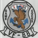 US NAVY Aviation Fighter Squadron VF-88 Military Patch GAME COCKS