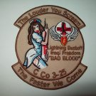 C Co 3-25 LIGHTNING DUSTOFF IRAQI FREEDOM - LOUDER YOU SCREAM - MILITARY PATCH
