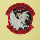 USAF THOSE WHO RIDE BRING DEATH 1st SOS GOOSE-11 MILITARY PATCH INSIGNIA