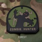 ZOMBIE HUNTER - FOREST - TACTICAL COMBAT BADGE MORALE PVC VELCRO MILITARY PATCH