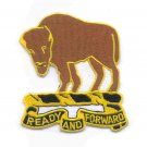 ARMY - 10th CAVALRY REGIMENT MILITARY PATCH - READY AND FORWARD BUFFALO SOLDIERS