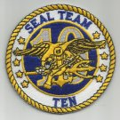US NAVY SEAL TEAM TEN MILITARY PATCH SEAL TEAM 10