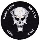 ARMY C CO 2nd BATTALION 1st SPECIAL FORCES ODA-163 MILITARY PATCH HELL HATH FURY