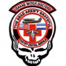 *THE DEAD AREN'T GRATEFUL MILITARY DUSTOFF MILITARY PATCH 1-228*