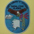 "US COAST GUARD USCG LORAN ""C"" STATION Shoal Cove Alaska Military Patch"