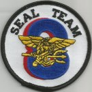 US NAVY SEAL TEAM EIGHT MILITARY PATCH SEAL TEAM 8