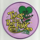 """OFFICIALLY LICENSED ED """"BIG DADDY"""" ROTH TALES OF THE RAT FINK HOT ROD PATCH PRPL"""