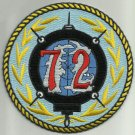 United States NAVY 72nd MINE DIVISION Military Patch VIETNAM