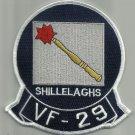 US NAVY VF-29 Aviation Fighter Squadron Twenty Nine Military Patch SHILLELAGHS