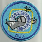 US NAVY DD-710 USS GEARING Lead Ship Destroyer Military Patch DUX