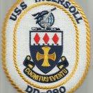 USS INGERSOLL DD-990 DESTROYER SHIP CREST MILITARY PATCH - COGNITUS EVENTU