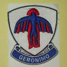 US ARMY 501st Airborne Infantry Regiment Military Patch GERONIMO Vietnam