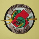 United States NAVY Fleet Surgical Team Six Military Patch