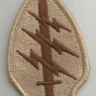 """United States ARMY SPECIAL FORCES MILITARY PATCH DESERT TAN COLOR 3"""" x 2"""""""