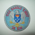 DE-1074 USS HAROLD E. HOLT KNOX CLASS FRIGATE DESTROYER ESCORT MILITARY PATCH