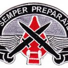 ARMY AIRBORNE SPECIAL OPERATIONS COMMAND EUROPE MILITARY PATCH SEMPER PREPARATE