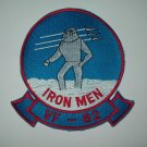 """VF -82 """"IRON MEN"""" US NAVY AVIATION FIGHTER SQUADRON MILITARY PATCH"""