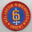 USMC 6th MARINE DIVISION  -  Melanesia Micronesia Orient - MILITARY PATCH