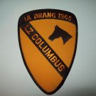 US ARMY 1st CAVALRY DIVISION MILITARY PATCH IA DRANG 1965 LZ COLUMBUS