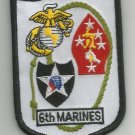 USMC 6th MARINES REGIMENT  -  MILITARY PATCH