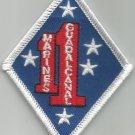 USMC 1ST MARINE REGIMENT - MILITARY PATCH - FIRST MARINES GUADALCANAL