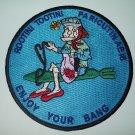 "(AE 18) USS PARICUTIN AMMUNITION SHIP ""GRANNY""  MILITARY PATCH"