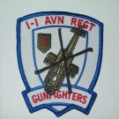 1-1st Army Aviation Regiment Military Patch Gunfighters