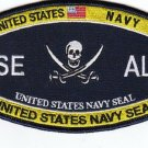 United States Navy Special Ops Ratings SEAL GOLD  - US NAVY SEAL MILITARY PATCH