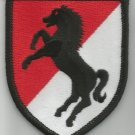US ARMY 11th ARMORED CAVALRY  -   MILITARY PATCH