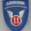 US ARMY - 11th AIRBORNE DIVISION MILITARY PATCH - 11th A/B